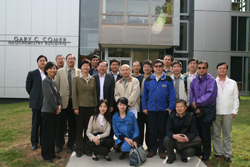 Photo of researchers from the Chinese Academy of Sciences