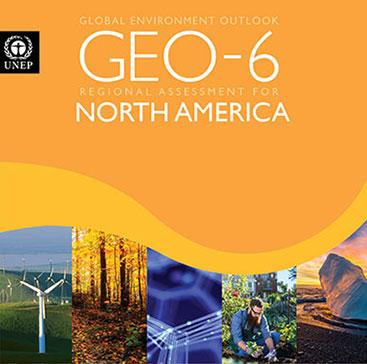 Report cover of GEO-6 Regional Assessment for North America