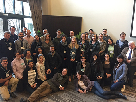 "Attendees at the workshop, ""Linkages between Earth Observations and Ecosystem Services,"" March 21‒22 in Palo Alto, California"