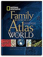 National Geographic Family Reference Atlas of the World Cover